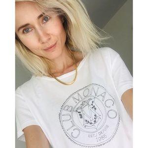 Rare Club Monaco Crest T-shirt